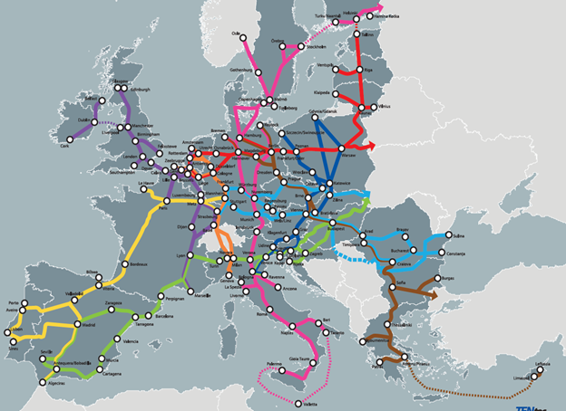 TEN-T – новая транспортная политика ЕС или с Запада на Восток за полчаса