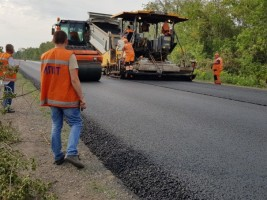 Будівництво автомобільної дороги Н-08 на ділянці Запоріжжя - Маріуполь