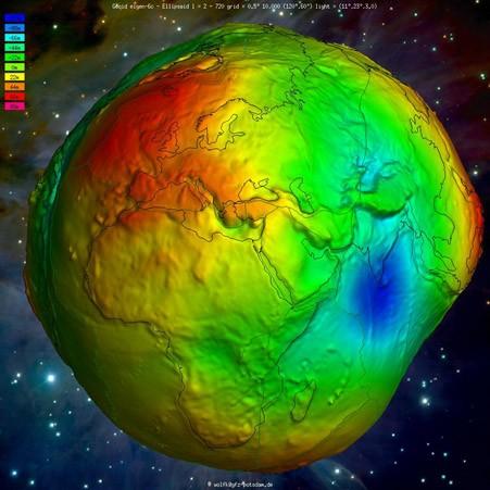 Спутниковые технологии в геодезии. Гравитационная модель Земли