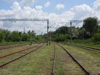 Строительство подъездного железнодорожного пути ПАО «Укрграфит»