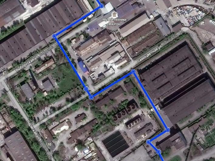 Проект трубопровода технической воды от сетей ПАО «Запорожсталь» для ПАО «Укрграфит»