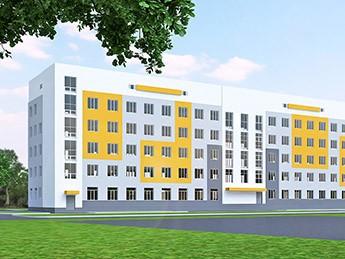 Реконструкция нежилого пятиэтажного здания лит. «Ш-5» под жилой дом по ул. Семинарская, 46 в г.Харькове